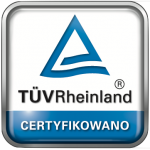TUV certyfikowano